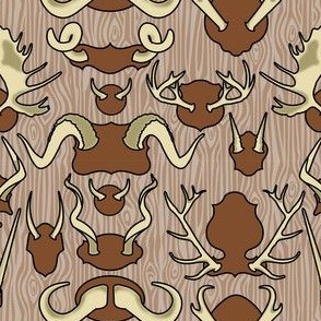 Antler Wall Bark