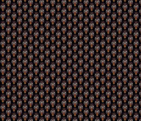 caballero_aguila fabric by loris on Spoonflower - custom fabric