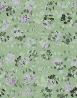Sid and Mander Paws 3 - Mint and Lavender