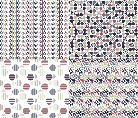 Purple Dream  fabric by demigoutte on Spoonflower - custom fabric