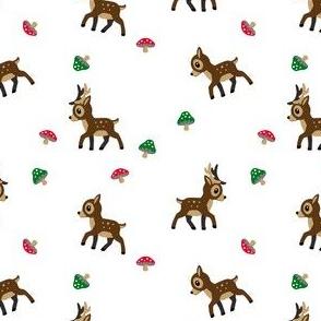 Deer - WHT