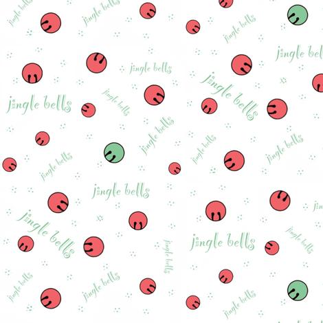 Jingle Bells fabric by jamielee on Spoonflower - custom fabric