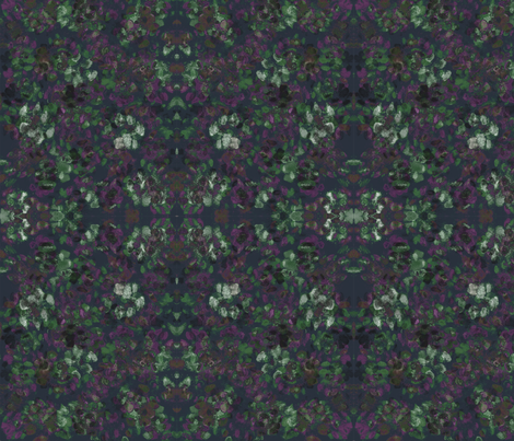 Catleidoscope Catmo 1 - Purple-Moss Mix fabric by jenithea on Spoonflower - custom fabric