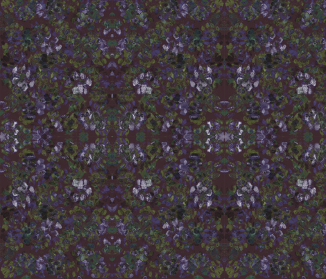 Catleidoscope Catmo 3 - Merlot-Moss-Periwinkle Mix fabric by jenithea on Spoonflower - custom fabric