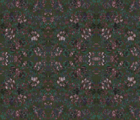 Catleidoscope Catmo 4 - Catki, Maroon, Turquoise fabric by jenithea on Spoonflower - custom fabric