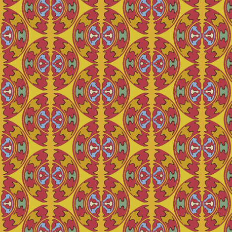 Tibetan Water Prayer fabric by david_kent_collections on Spoonflower - custom fabric