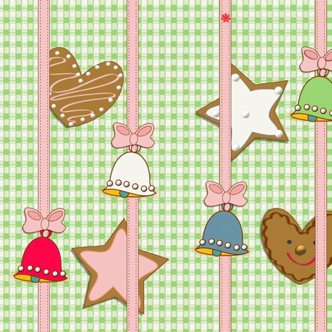 wrapped with love fabric by kato_kato on Spoonflower - custom fabric