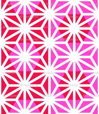 Asanoha (Pink)