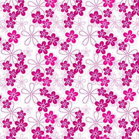 ISLAND PINKS! - © PinkSodaPop 4ComputerHeaven.com fabric by pinksodapop on Spoonflower - custom fabric