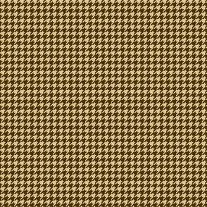 Brown and tan houndstooth check