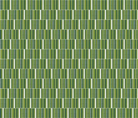 Woodland Woodcut Stripe fabric by spellstone on Spoonflower - custom fabric