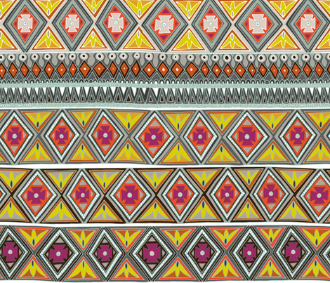 amber veneto fabric by scrummy on Spoonflower - custom fabric