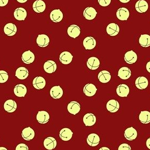 Jingle Bells (red and gold)