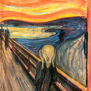 Munch - The Scream (1893) - 18 in