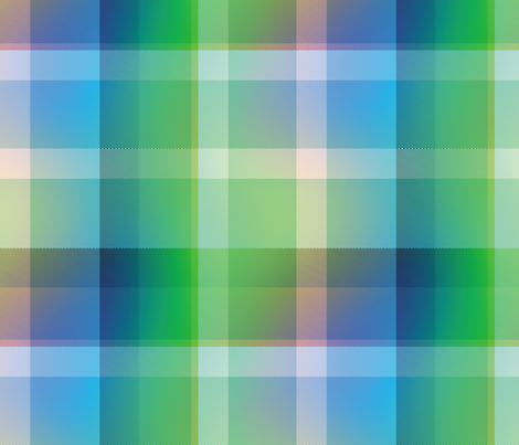 tartan Plaid 37, L fabric by animotaxis on Spoonflower - custom fabric