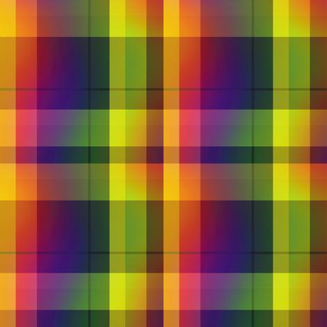 Tartan Plaid 39, S fabric by animotaxis on Spoonflower - custom fabric