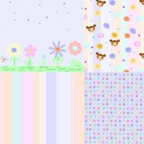sweet rolls coordinates patterns 4 in 1