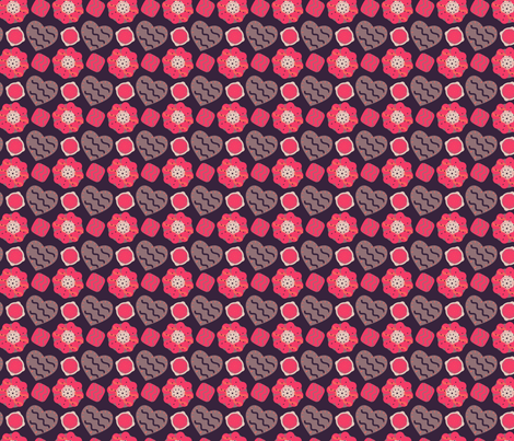 For My Sweetie fabric by eppiepeppercorn on Spoonflower - custom fabric