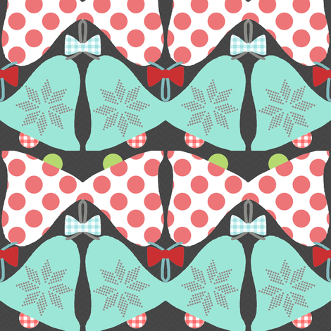 * Xmas Bells* fabric by katarina on Spoonflower - custom fabric