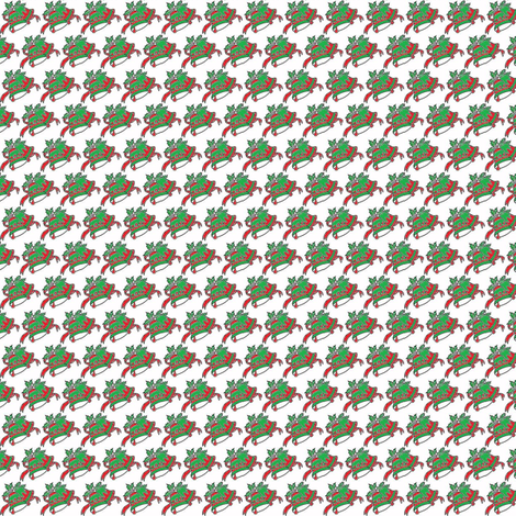 holiday bells fabric by naz on Spoonflower - custom fabric