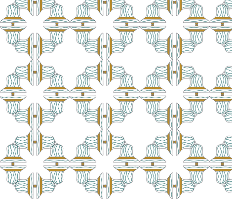 striped_bells fabric by lauriebaars on Spoonflower - custom fabric