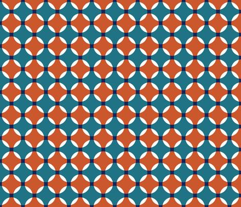 Adobe Circles fabric by ravenous on Spoonflower - custom fabric