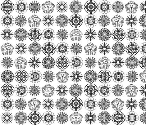 Mini mandalas fabric by madebymemyselfandi on Spoonflower - custom fabric