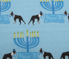 Happy Hanukkah Bostons