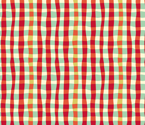 croisillons fabric by mariao on Spoonflower - custom fabric