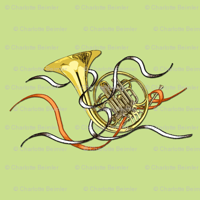 French Horns Roomy Repeat