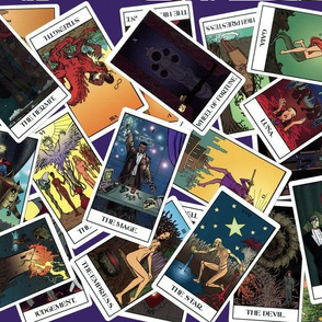 Mage Tarot: Purple