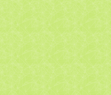 For Round Border; White Webs on Lt Green fabric by muddyfoot on Spoonflower - custom fabric
