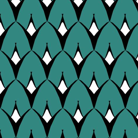 Strange Coordinate fabric by pond_ripple on Spoonflower - custom fabric