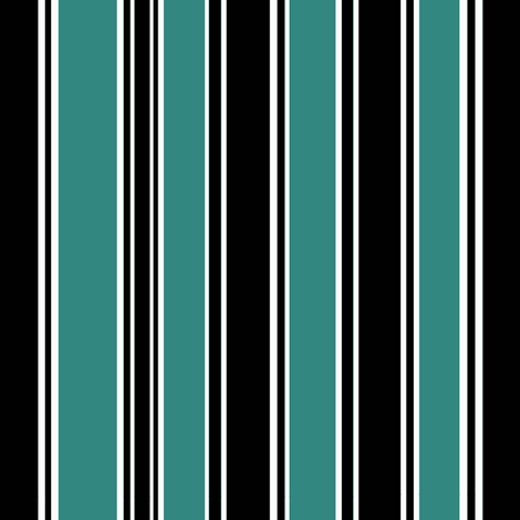 Coordinate Stripe fabric by pond_ripple on Spoonflower - custom fabric