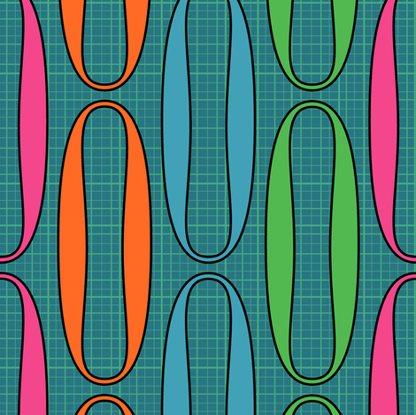 Links fabric by nekineko on Spoonflower - custom fabric