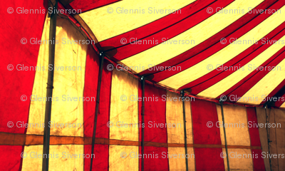 Peppermint Candy Circus Tent