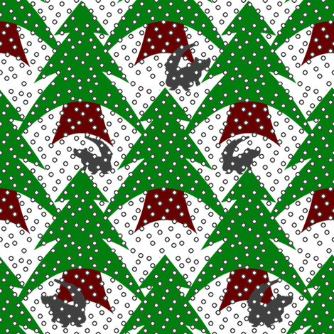 PineyWoods4Color fabric by grannynan on Spoonflower - custom fabric