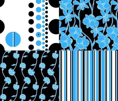 Contest Coordinates fabric by jadegordon on Spoonflower - custom fabric