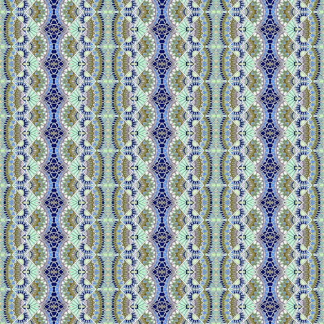 Victorian Fans fabric by edsel2084 on Spoonflower - custom fabric
