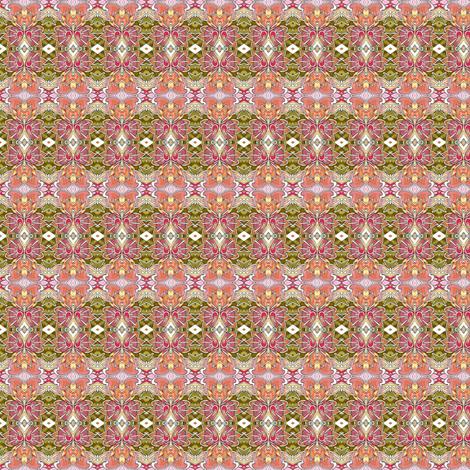 Knee High to a Hamster Oranamental Plaid fabric by edsel2084 on Spoonflower - custom fabric