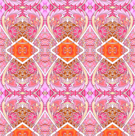 Grandmother's Hourglass fabric by edsel2084 on Spoonflower - custom fabric
