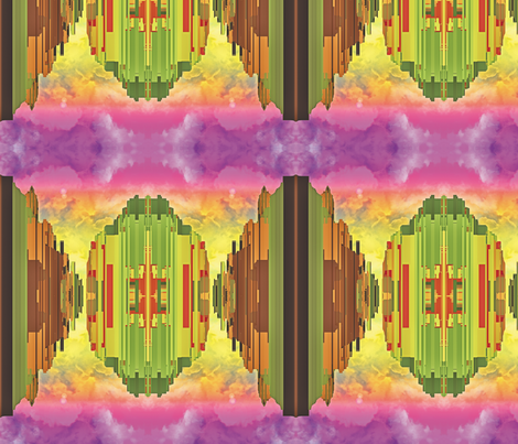 Sky City, L fabric by animotaxis on Spoonflower - custom fabric