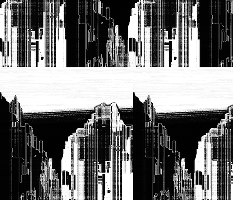 City Noir, L fabric by animotaxis on Spoonflower - custom fabric