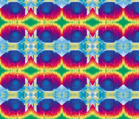 Crystal City, S fabric by animotaxis on Spoonflower - custom fabric