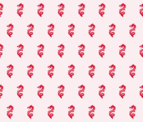 Red Dragon, S fabric by animotaxis on Spoonflower - custom fabric