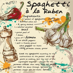 Spaghetti a la Reuben