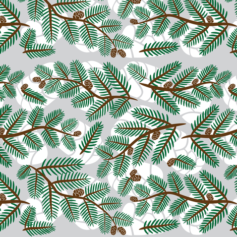 An Olympian Evergreen fabric by robyriker on Spoonflower - custom fabric