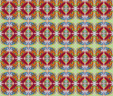 PennyArt fabric by bluenini on Spoonflower - custom fabric