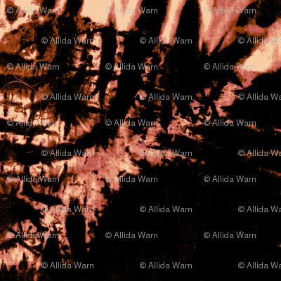 Flame Shibori (posterized)