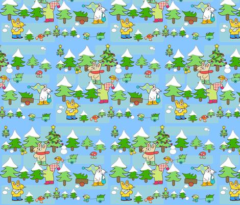 Choosing a Christmas tree fabric by kato_kato on Spoonflower - custom fabric